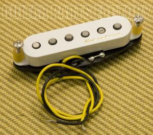 005-8019-000 Fender Pickup, Strat®, Vintage Noiseless, Bridge, White 0058019000