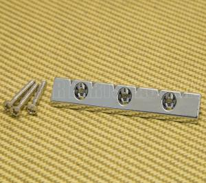 GB-LAP-C Chrome Lap Steel Style Universal Flat Mount Guitar Bridge
