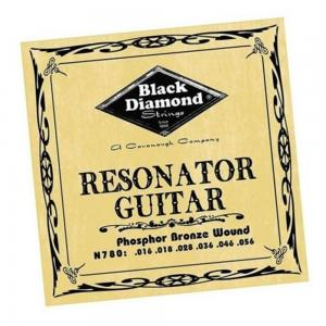 N780 Black Diamond Phosphor Bronze Resonator Guitar Strings