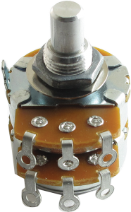 V38-2X500KA Alpha Dual Audio 500K Potentiometer