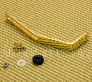 006-0874-000 Genuine Gretsch Gold Arch Top/Arched-Top Guitar Pickguard Bracket /Hardware 0060874000