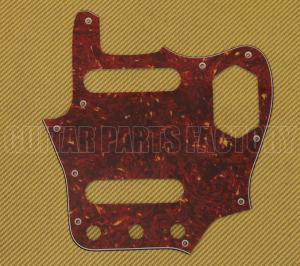 PG-0580-044 Red Tortoise Pickguard for Fender Japan MIJ Reissue Jaguar