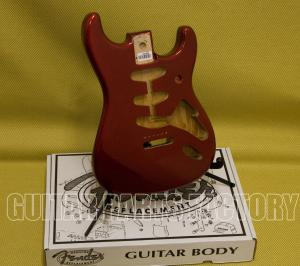 099-8003-709 Genuine Fender Classic Series Vintage 60's Stratocaster SSS Alder Body- Candy Apple Red 0998003709