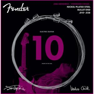 073-3250-609 Jimi Hendrix Voodoo Child Nickel Plated Steel Fender Electric Guitar Strings Bullet End 0733250609