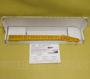 099-0063-921 Genuine Fender 50s Lacquer Telecaster/Tele Replacement Guitar Neck 0990063921