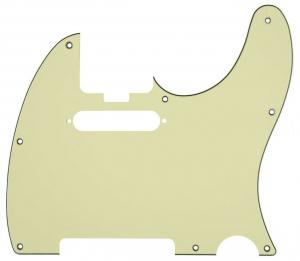 099-2193-004 Fender Elite Tele Pickguard Mint Green 3-Ply w/ Truss Cut Out 0992193004