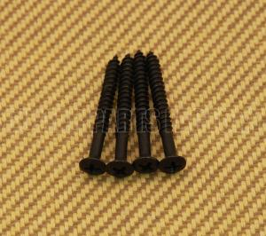 SCR-IN-B Black Short Neck Screws #8 x 1-1/2""