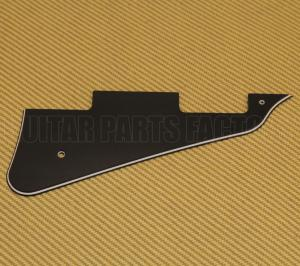 PG-0800-033 3-Ply Black Pickguard for Les Paul