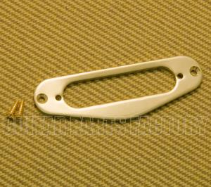 PC-5763-BRASS Unpolished Brass Neck Pickup Ring for Fender Telecaster/Tele