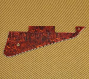 LP-505R WD USA Made Red Tortoise Pickguard for Les Paul