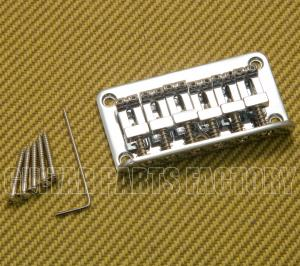SB006C Top-loading Chrome Hardtail Guitar Bridge