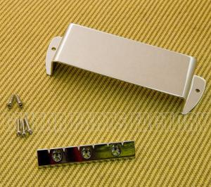 006-9710-000 Gretsch Chrome Electro Lap Steel Bridge & Cover Plate 0069710000