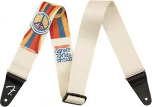 099-0639-002 Fender Woodstock Strap 50 Years Peace & Music Hippie Guitar Strap 0990639002