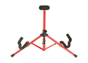 099-1806-000 Genuine Fender Tubular Mini Guitar Stand Red 0991806000