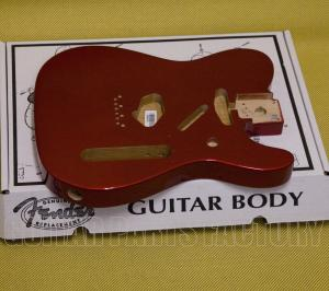 099-8006-709 Genuine Fender Telecaster® Body (Vintage Bridge) - Candy Apple Red 0998006709