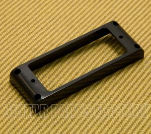 PC-018BK Black Flat Bottom Mini Humbucker Plastic Ring