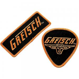 099-9179-002 Gretsch Guitar High Quality Set of 2 Guitar Embrodiered Patches 0999179002