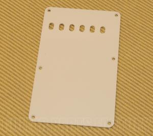 PG-0556-051 Parchment 1-ply Back Plate/Tremolo Cover Fender Stratocaster/Strat