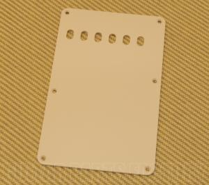 PG-0556-028 1-Ply Cream 6-Hole Back Plate Backplate Strat Stratocaster Guitar