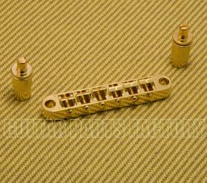 BM003-G Gold Economy Tune-O-Matic Guitar Bridge 52mm