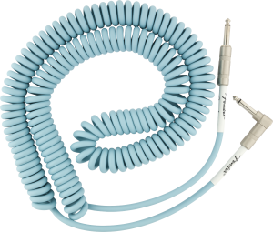 099-0823-006 Fender Original Series Daphne Blue Coil Cable 30' (9m) 0990823006