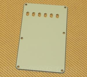 PG-0556-024 Mint Green 3-ply Back Plate/Tremolo Cover for Fender Stratocaster/Strat