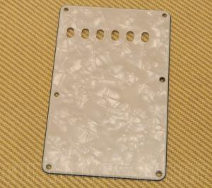 PG-0556-054 Mint Pearloid Back Plate/Tremolo Cover Fender Stratocaster/Strat