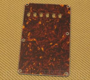 PG-0556-043 Tortoise Back Plate/Tremolo Cover for Fender Stratocaster/Strat