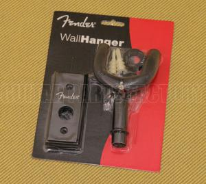 099-1804-006 Fender Wood Wall Hanger Black for Guitar/Bass 0991804006
