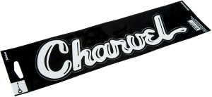 099-8778-001 Charvel Guitar Vinyl Sticker Wht 0998778001