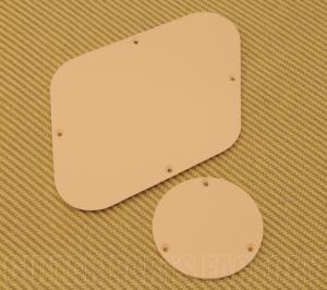 PG-0814-028 Cream Back/Switch Plate Backplate Set fits USA Gibson Les Paul