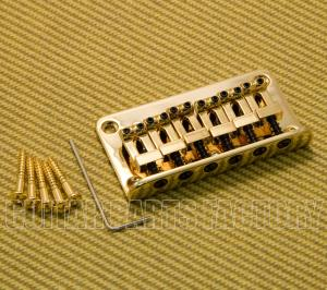 006-2375-G Squier Gold Import Bullet Top Load Hardtail Guitar Bridge Strat/Tele