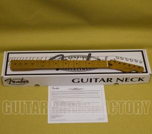 "099-0302-920 Fender Roasted Maple Telecaster® Neck, 22 Jumbo Frets, 12"" Radius, Flat Oval Shape 0990302920"