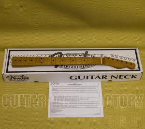 "099-9892-920 Fender Roasted Maple Vintera® Mod '60's Telecaster® Neck, 21 Medium Jumbo Frets, 9.5"" Radius, ""C"" Shape 0999892920"