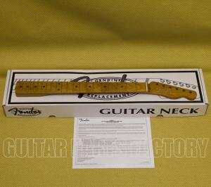 "099-9862-920 Fender Roasted Maple Vintera® Mod '50's Telecaster® Neck, 21 Medium Jumbo Frets, 9.5"", ""V"" Shape 0999862920"