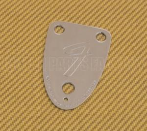 "005-4525-049 Fender Chrome '70s Vintage-Style 3-BOLT ""F"" Stamped Guitar Neck Plate 0054525049"