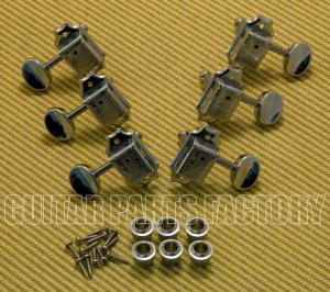 WJ-45-3C Wilkinson 3x3 Chrome Vintage Tuners for Gibson/Epiphone Les Paul SG
