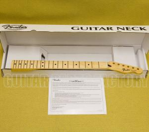 099-5102-921 Genuine Fender Standard Series Telecaster® Neck, 21 Medium Jumbo Frets, Maple 0995102921