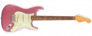 014-9993-366 Fender Vintera '60s Stratocaster Modified Electric Guitar Burgundy Mist Metallic