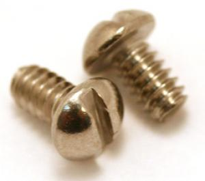 GS-0062-005 2 Stainless Slotted Screws For USA Lever Switch