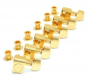 099-0820-200 Genuine Fender Schaller American Series Gold Tuners for Strat/Tele 0990820200