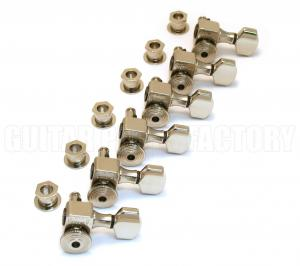 SZ-6-NK Sperzel Trim-Lock 6 Inline Nickel Guitar Tuners