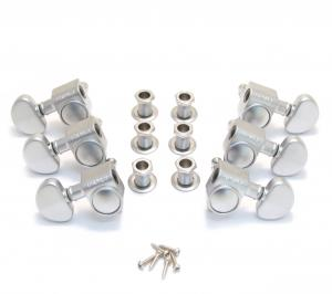 102CS Satin Chrome Grover 3+3 Roto Tuners