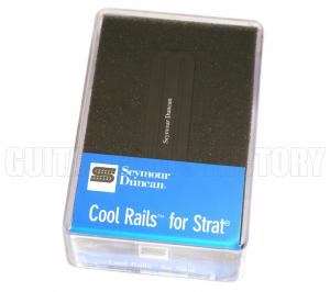 11205-08-B Seymour Duncan Cool Rails Bridge Black SCR-1b