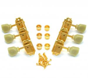 TK-0735-002 Gotoh Gold Locking Tuners for Vintage Gibson Les Paul SG Guitar