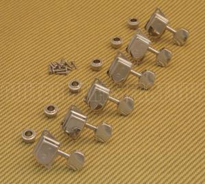 TK-0759-001 Schaller ST6 Series Nickel 6 inline Tuners For Fender Strat/Tele