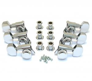 INDM6 Schaller Chrome Locking 3+3 Tuners #M6 2900