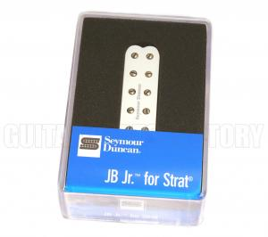11205-16-W Seymour Duncan JB JR. Bridge Pickup For Strat White SJBJ-1b