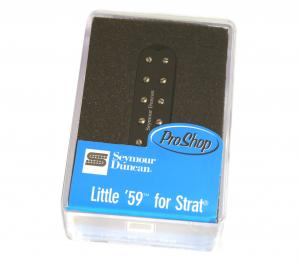11205-22-B Seymour Duncan Little '59 Bridge -Black SL59-1b