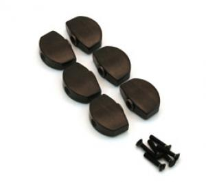 EBONY BUTTONS FOR FULL SIZE SCHALLER